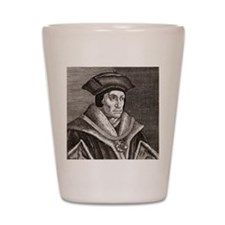 Sir Thomas More, English statesman Shot Glass