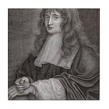 Sir Isaac Newton Tile Coaster