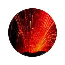 "Volcanic eruption 3.5"" Button"