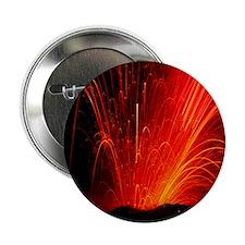 "Volcanic eruption 2.25"" Button"