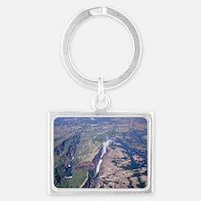 Victoria Falls Landscape Keychain