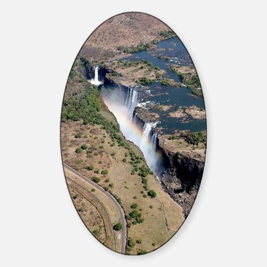 Victoria Falls Sticker (Oval)