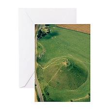 Silbury Hill, Wiltshire, UK Greeting Card