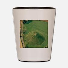 Silbury Hill, Wiltshire, UK Shot Glass