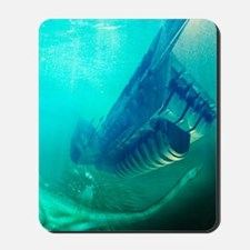 Loch Ness monster, artwork Mousepad
