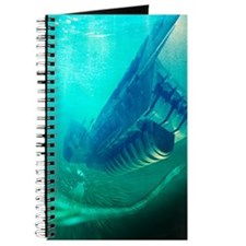Loch Ness monster, artwork Journal