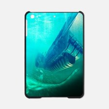 Loch Ness monster, artwork iPad Mini Case