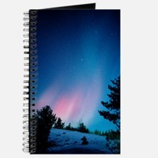 View of a spectacular aurora borealis disp Journal