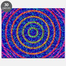 Light sensor cells, conceptual artwork Puzzle