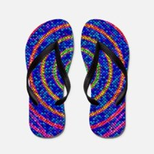 Light sensor cells, conceptual artwork Flip Flops