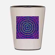 Light sensor cells, conceptual artwork Shot Glass