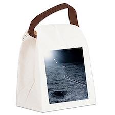Lunar landing module Canvas Lunch Bag