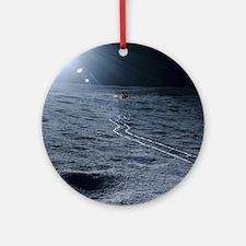 Lunar landing module Round Ornament