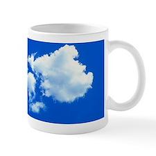 View of a cumulus cloud Mug