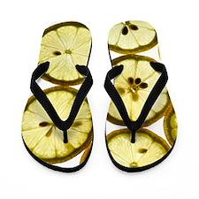Lemon slices Flip Flops
