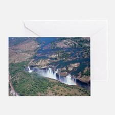 Victoria Falls Greeting Card