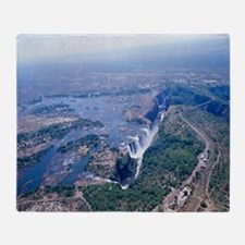 Victoria Falls Throw Blanket