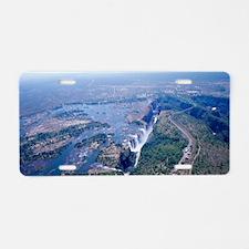 Victoria Falls Aluminum License Plate