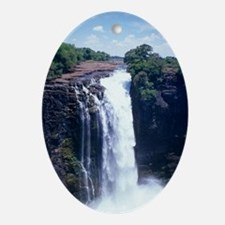Victoria Falls Oval Ornament