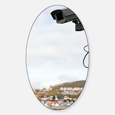 Security camera Decal