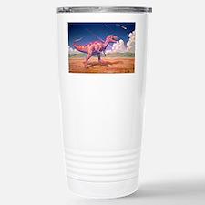 Tyrannosaurus rex with meteorit Travel Mug