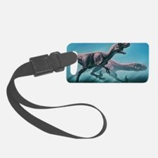 Utahraptors hunting Luggage Tag