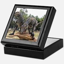 Tyrannosaurus rex dinosaurs Keepsake Box