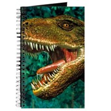 Tyrannosaurus rex dinosaur head Journal