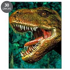 Tyrannosaurus rex dinosaur head Puzzle