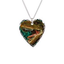 Tyrannosaurus rex dinosaur he Necklace