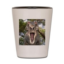 Tyrannosaurus rex dinosaur Shot Glass