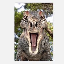 Tyrannosaurus rex dinosau Postcards (Package of 8)