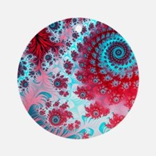 Julia fractal Round Ornament
