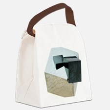 Iron pyrite crystals Canvas Lunch Bag