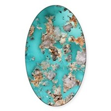 Turquoise mineral Decal