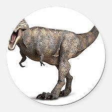 Tyrannosaurus rex dinosaur Round Car Magnet