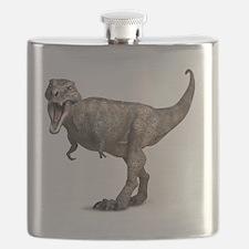 Tyrannosaurus rex dinosaur Flask