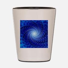 Julia fractal Shot Glass