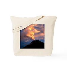 Tunguragua volcano Tote Bag