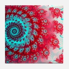 Ju lia fractal Tile Coaster