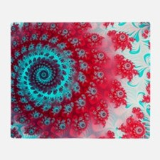Ju lia fractal Throw Blanket