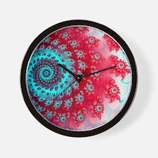 Ju lia fractal Wall Clock