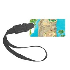Types of islands Luggage Tag