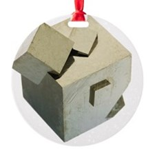 Iron pyrite crystals Ornament