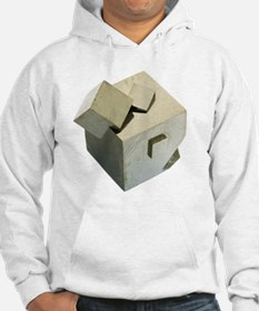 Iron pyrite crystals Hoodie