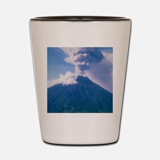 Tunguragua volcano Shot Glass