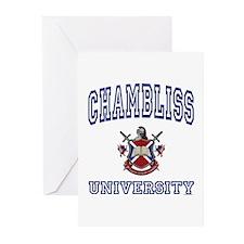 CHAMBLISS University Greeting Cards (Pk of 10)