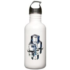 Ice cubes Water Bottle