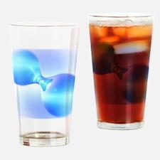 Hydrogen molecule Drinking Glass
