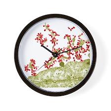 Influenza viruses, TEM Wall Clock